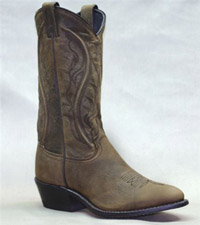 Women's 11 inch Brown Cowhide Sage Boot 3551