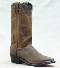 Men's Western Boot 12 inch Brown Sage Boot 4740